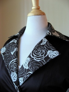Coat Collar View