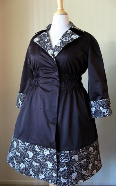 World Fashion Burda on Pattern  Burda World Of Fashion 02 2008 117 Coat