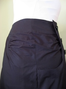 Side Detail of Skirt