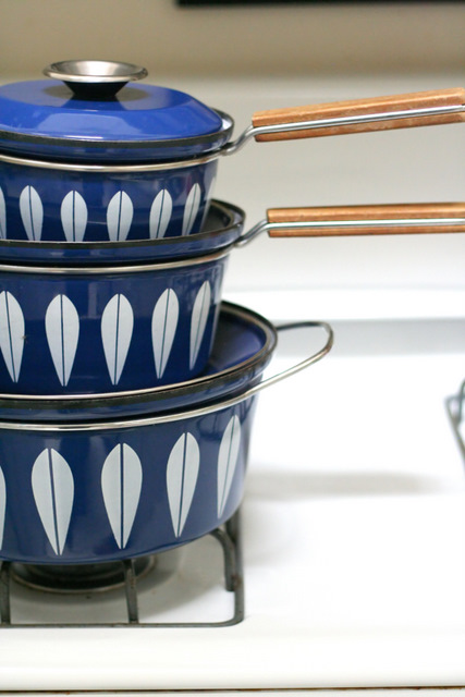 Cathrine Holm Pots - Blue Three pot set