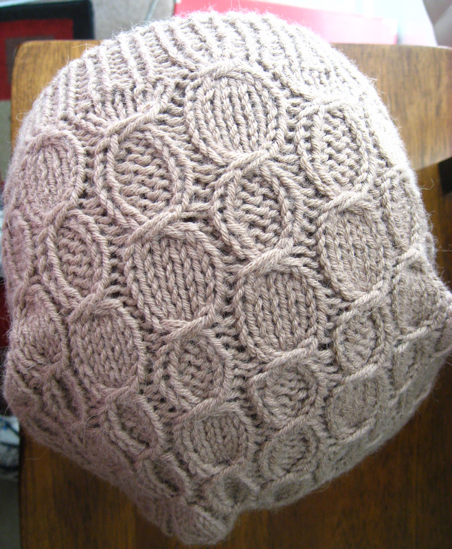 Knitting Pattern Hat Straight Needles Free : free slouchy hat knitting pattern on straight needles ...