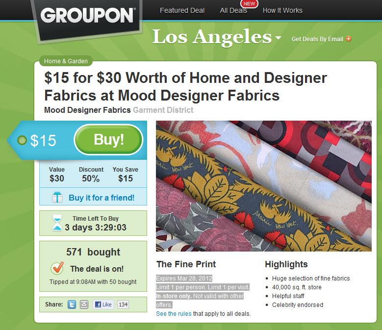 groupon deals los angeles