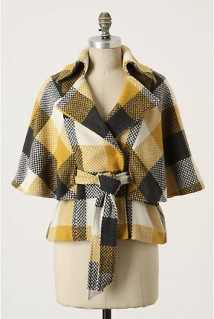 Anthropologie Craftsmanship Capelet